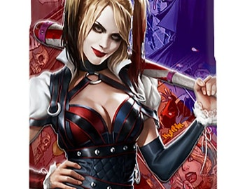 Harley Quinn & Joker iPhone Case iPhone 4-X, Samsung Galaxy Case S3-S8  Most Models Available