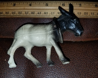 Antique Celluloid Bobblehead Donkey