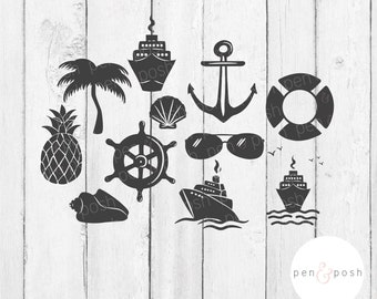 Cruise SVG - Cruise SVG Bundle - Vacation SVG - Nautical Svg - Cruise Ship Svg - Summer Svg - Cruise Life Svg - Ship Svg - Family Cruise Svg