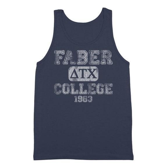 Faber College Funny Animal House Frat Party Men's Tri-Blend T-Shirt DT0599 x2dvHqjLUB