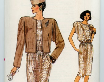 Vintage Vogue Sewing Pattern - 9630 ca.1986 - Uncut - Factory Folded