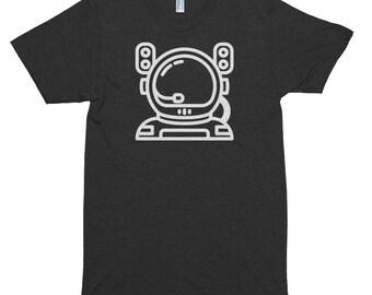 Mens Space T Shirt, Astronaut Shirt, Astronomy, Space Shirt, Astronaut T Shirt, Nasa Shirt, Mens Space Shirt, Triblend, Short sleeve