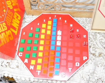 Cant stop Board Game Complete, Vintage Board Game, Vintage Game, Game Night, :)s*