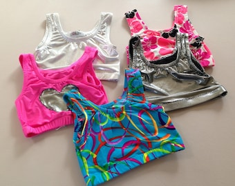 Size 7 girls Lot.....Leo Top Lot Clear Out Sale.......Made and Ready to be Shipped!!