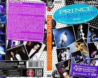 Prince Lovesexy Tour Live Dortmund Germany 9/09/88 Very Rare DVD