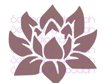 Purple Lotus SVG/PNG