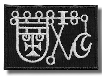 Sigil of Bathin - embroidered patch 10x7 cm