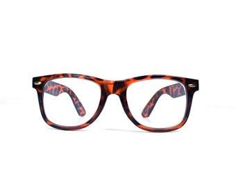 vintage. 90s. cheaters. reading glasses. glasses. readers cheater glasses. weak 1.50. wayfarer. tortoise shell. mens womens oversize glasses