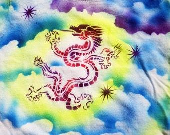 Dragon Star Airbrushed Baby T-Shirt