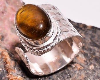 Luxor Tiger's Eye Gemstone Ring