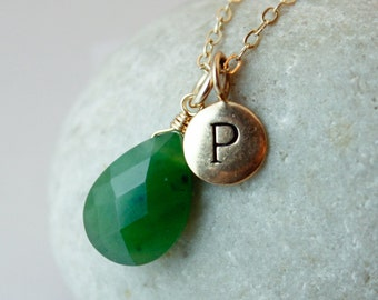 Green Jade Ring Thick Band Simple Band Ring