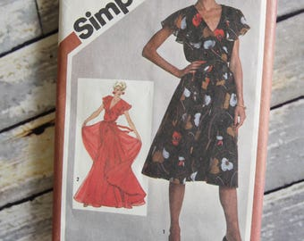 Vintage Simplicity Sewing Pattern 9870
