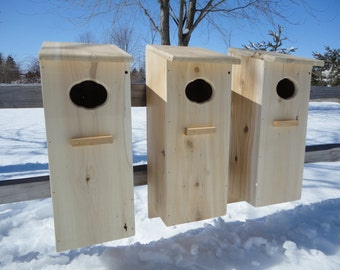 3 pack Wood duck nest box