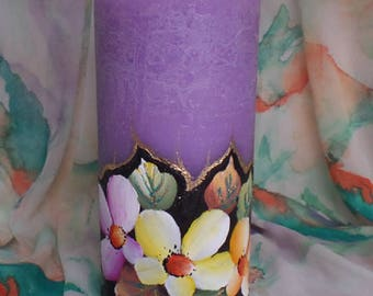 Candle crafted model Anemones
