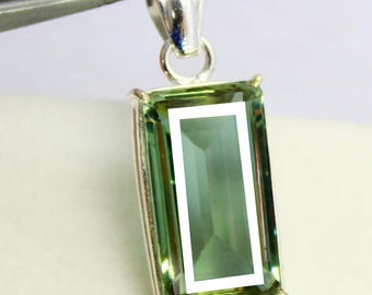 46.10Ct Certified Gorgeous Alexandrite Pendant 925 Solid Sterling Silver AU3942