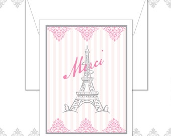 Paris Stationery of 10 with envelopes