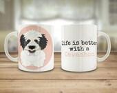 Cavachon dog mug, Cavacho...