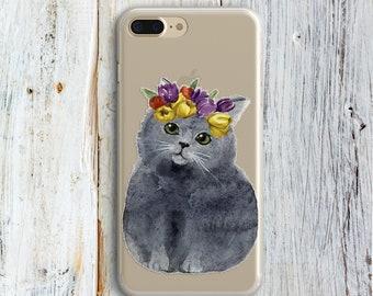Cute iPhone Case for kids iPhone 7 Plus 7 Case iPhone 8 iPhone 6 6 Plus Case iPhone SE Samsung Galaxy S6 Edge S7 iphone X iPhone 8 Plus Cats