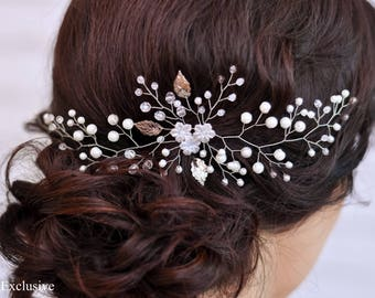 Rhinestone headpiece Bridal hair piece Wedding headband Crystal headband Wedding hair accessories Bridal hair jewelry Bridal headband