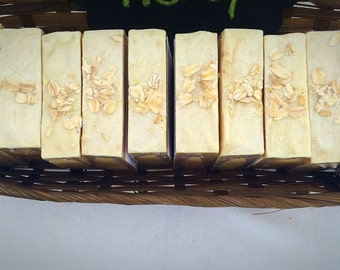 Oatmeal Honey Handcrafted Soap- Fragrance Free