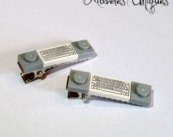 Pair of keyboard Lego brick strips