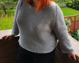 PULPEA 100% cotton knitted sweater