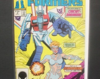 1985 Transformers #9 Circuit Breaker  2nd Printing Good-VG, Condition , Vintage Marvel Comic Book Based On The Television Cartoon Show