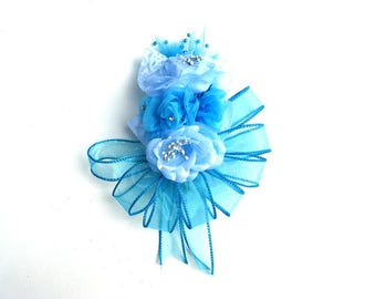 Baby shower corsage, Corsage for Mom-To-Be, Wedding corsage, Corsage, Prom corsage, Floral accessory, Wrist corsage, Corsage for women