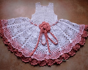 Crochet Dress Pattern No 97