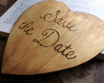 Save the Date - Engagement Photo Prop - Rustic Wedding Sign- Wedding Sign