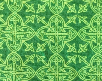 Made to Order Celtic Knot Green Cotton Unisex Adult Pajama Pants