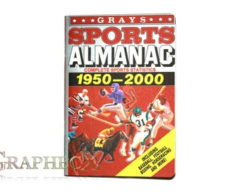 Fan-made Gray's Sports Almanac Back to the Future inspired personalized journal notebook