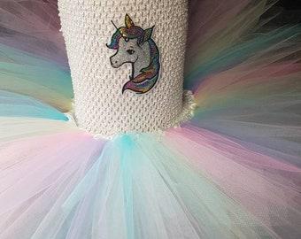 Unicorn tutu dress. Unicorn dress up. Unicorn costume. Party dress . Birthday dress. Unicorn outfit. Rainbow dress. Fairytale dress