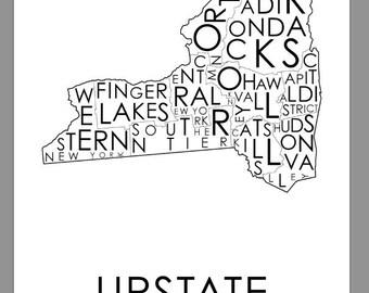 11 x 17 Upstate print