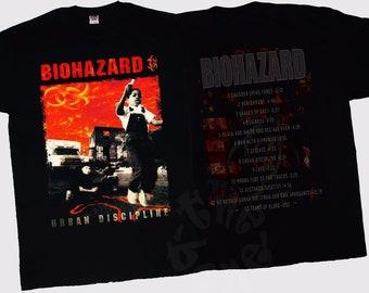 BIOHAZARD Urban Discipline T-Shirt XL