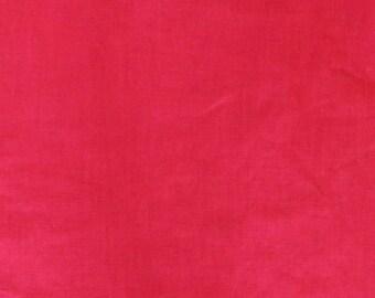 SALE - Red medium weight linen - 1.40m piece