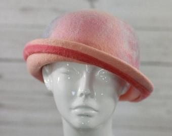"Hat ""Sanibel ""- BIG SIZE-100% merino wool"
