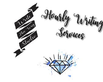 Hourly Writing Services - Write This Way Studio - Writing Services - Business Services - Copywriting - Content Creation - Personal Writing