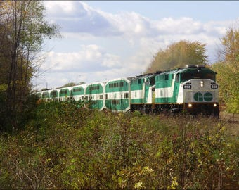 Poster, Many Sizes Available; Go 558 Pulling East From Guildwood