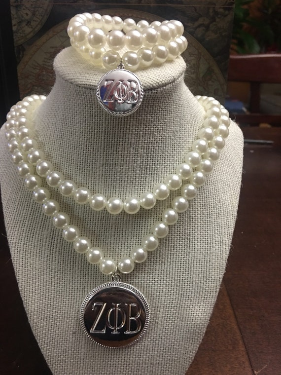 Perfect Pearls for the Ladies of Zeta Phi Beta Sorority, Incorporated.