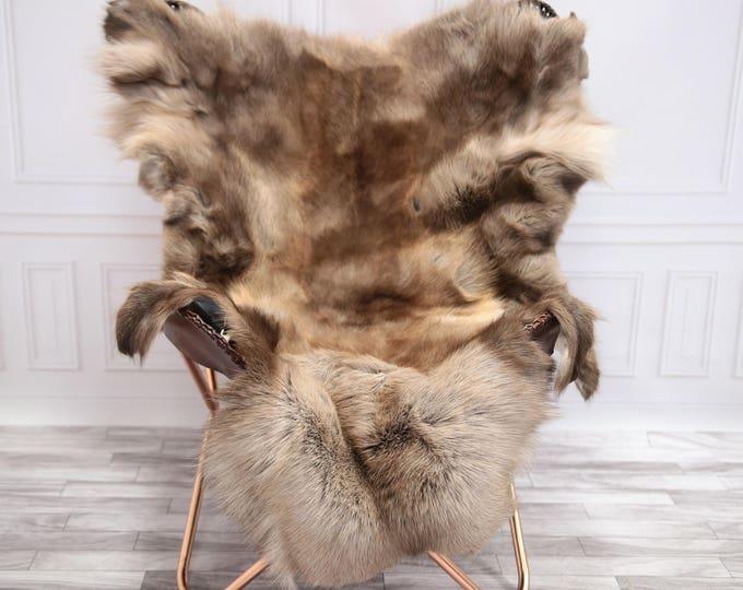 Reindeer Hide | Reindeer Rug | Reindeer Skin | Throw XL Extra Large - Scandinavian Style #20RE1