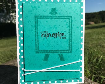 Friendship Greeting Card - A Little Expression of Love