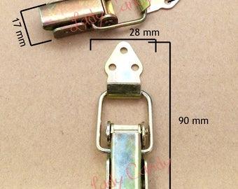 Clasp closure / Machinist crate / steel 90 x 28 mm /#120116