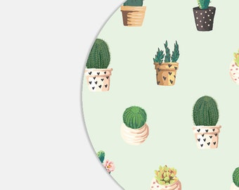 Cactus Mouse Pad Coworker Gift Office Supplies Gift Office Decor Cactus Mousepad Plants Office Desk Accessories Mouse Pad Mint Mouse Pad