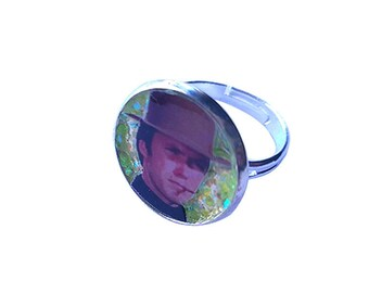 CLINT EASTWOOD glitter ring