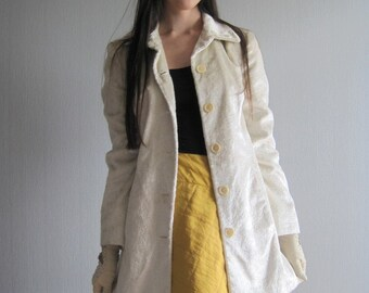 Slim Fit Trench Coat SISLEY XS\S  Womens Overcoat Trimmed Short Trench Women's Outerwear Italian Fashion Made in Italy Benetton