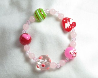 Spring of Heart Valentine Bracelet