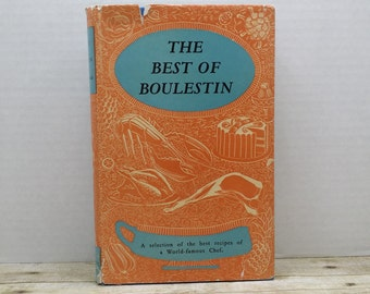 The Best of Boulestin, 1962, Vintage cookbook