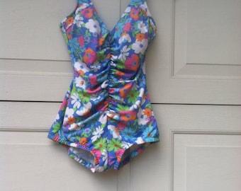 Maillot de bain Vintage / Retro maillot de bain / maillot de bain bombe / One Piece maillot de bain /