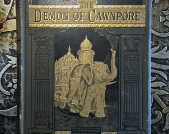 The Demon of Cawnpore, Jules Verne, 1881, Illustrated, Steam House Part I